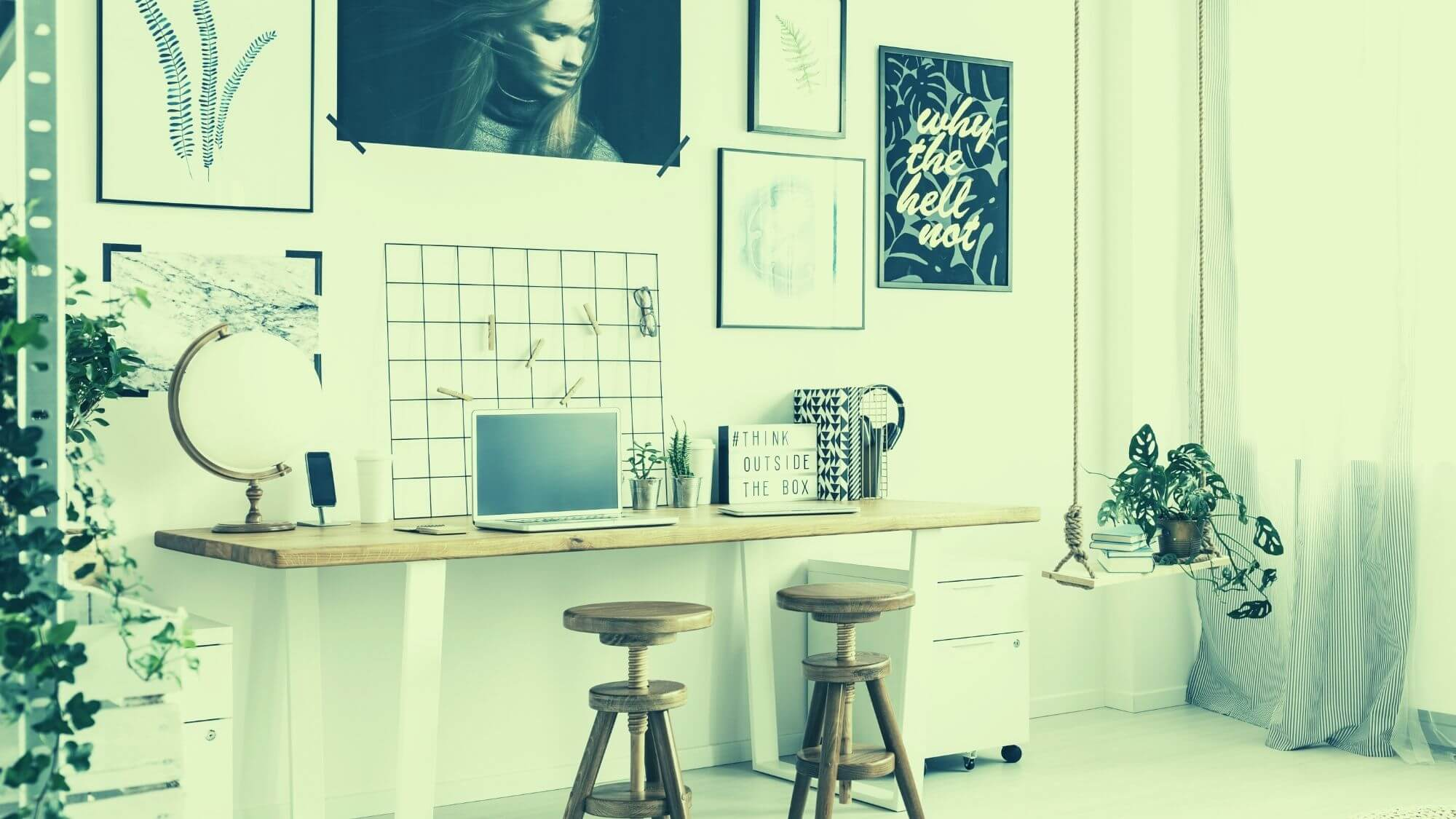 משרד ביתי – עסקים בבית משותף